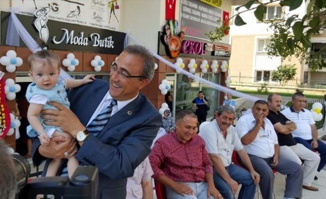Başkan Karaçoban, İş Yeri Açılışına Katıldı