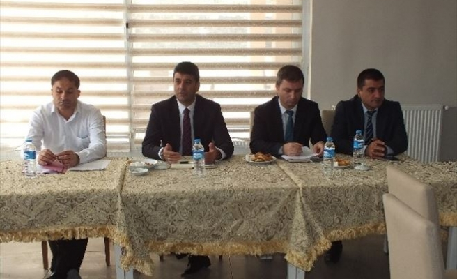 Malazgirt'te Okul Müdürleri Değerlendirme Toplantısı