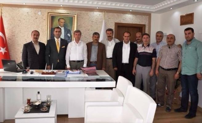 Tatvan ESO'dan Vali Çınar'a Ziyaret