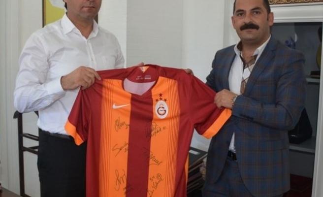 Bitlis Gs Taraftar Derneği'nden Kaymakam Erkan'a Ziyaret