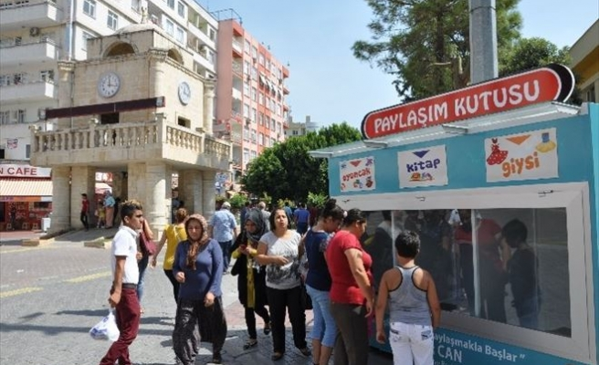 "Tarsus'ta ""Paylaşım Kutusu"" Projesi"