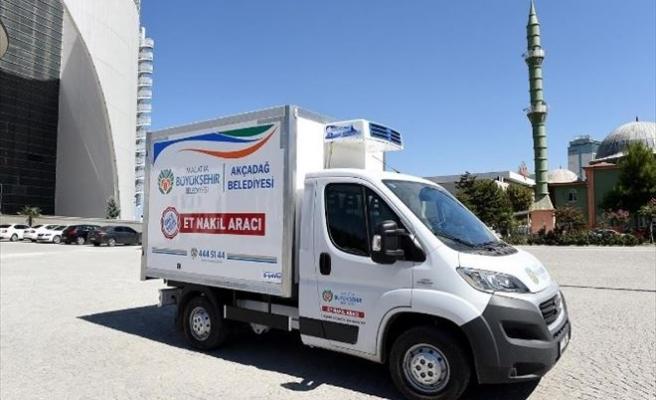 Büyükşehir Belediyesi ET Nakil Araçları Aldı
