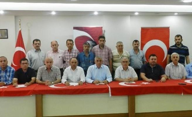 Salihli'de STK'lardan 'Teröre Hayır' Deklarasyonu