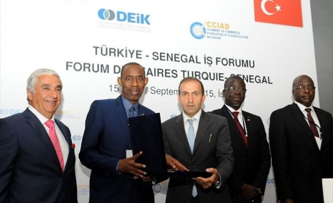 Deik Türkiye-senegal İş Forumu Bugün Yapıldı