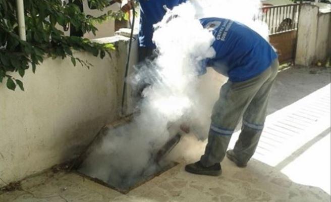 -Korkuteli'de Sivrisinekle Mücadele