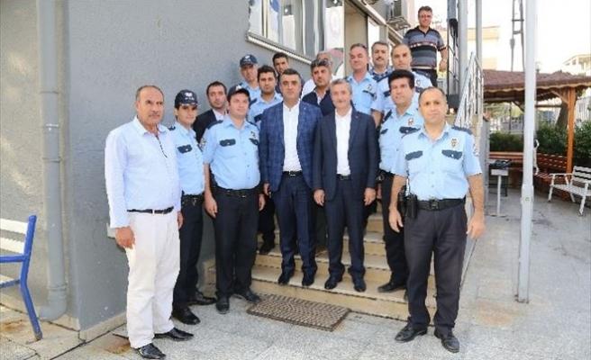 Tahmazoğlu'ndan Saldırıya Uğrayan Polislere Ziyaret