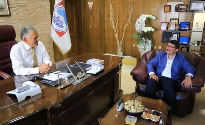 Şehzadeler Belediye Başkanı Ömer Faruk Çelik'in Örnek Ve Referans Melikgazi Belediyesi Ziyareti