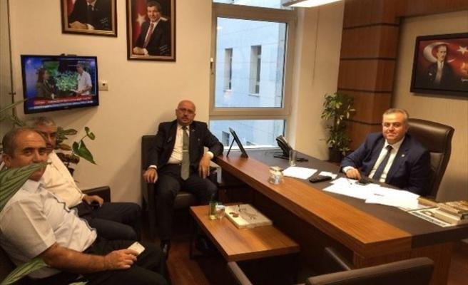 Belediye Başkanlarından Milletvekili Şeker'e Ziyaret