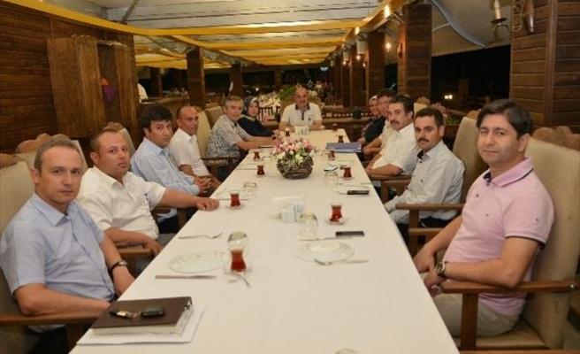 Başkan Gürlesin Müdürlerle İstişare Toplantısında Buluştu