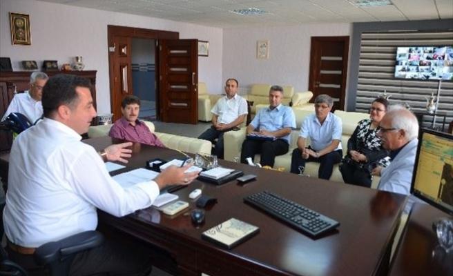 Kent Konseyinin Projeleri Başkan Bakıcı'ya Teslim Edildi