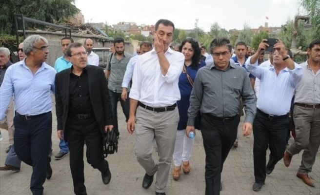 AP Heyeti Cizre'de İncelemelerde Bulundu