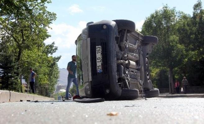 Erzurum'da Trafik Kazası: 6 Yaralı