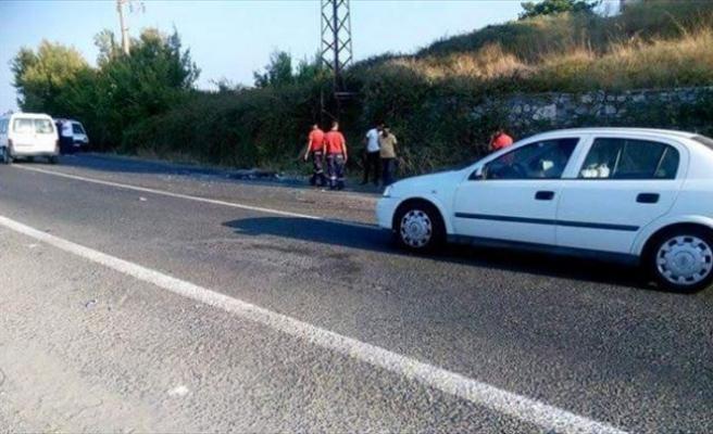Kuşadası'nda Trafik Kazası 1 Ölü, 3 Yaralı