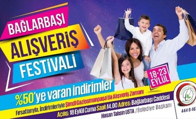 'Bağlarbaşı Alışveriş Festivali' Başlıyor