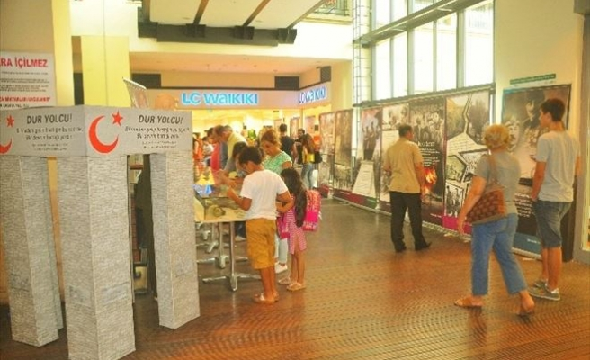 Forum Mersin 'Çanakkale Müzesi Ve Fotoğraf Sergisi'ne Ev Sahipliği Yaptı