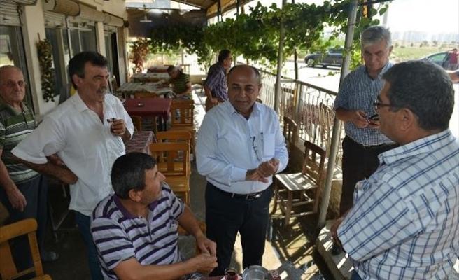 Başkan Arslan Ataşehir Mahallesi'ni Gezdi