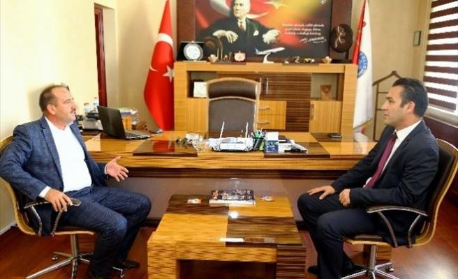 Başkan Duruay'dan Emniyet Müdürü'ne Hayırlı Olsun Ziyareti