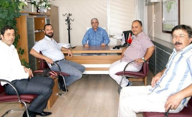 Ayto'dan Efeler İmar Ve Şehircilik Müdürü Toyran'a Ziyaret
