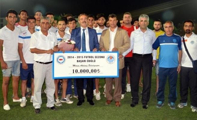 Akdeniz Belediyespor'a TFF'den 10 Bin Lira Para Ödülü