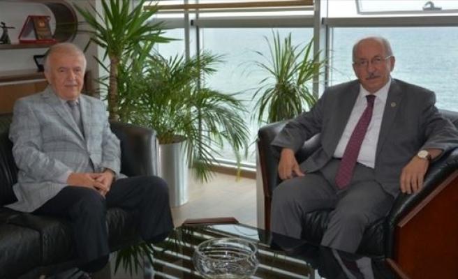 Tekirdağ Büyükşehir Belediye Başkanı Albayrak'tan Tredaş'a Ziyaret