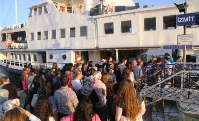 Mehtap Ve Ada Turları'na 8 Bin Kişi Katıldı