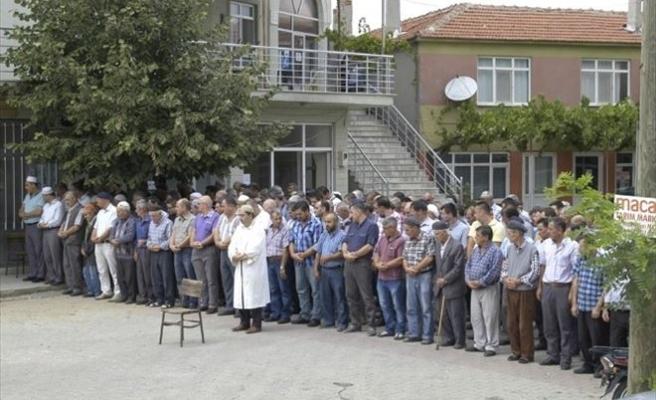 Kabe'deki Vinç Kazasında Ölen Tekirdağlı Ramazan Özmen İçin Memleketinde Gıyabi Cenaze Namazı Kılındı