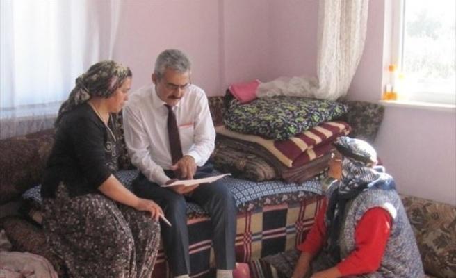 Ayrancı'da Yaşlı Ve Engellilerin Evlerini Belediye Temizliyor