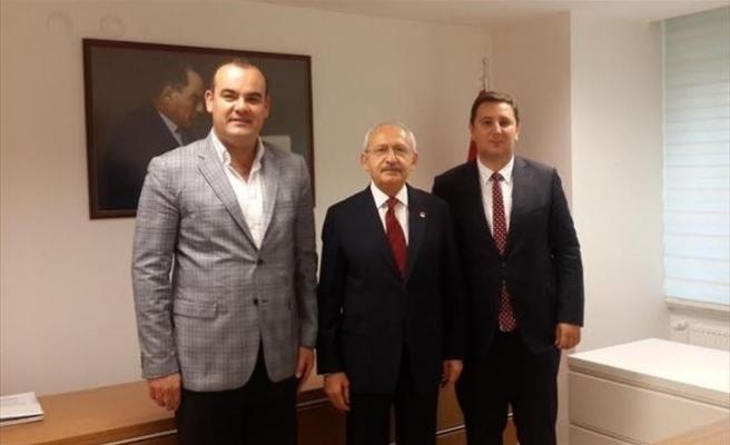 Kılıçdaroğlu, Enes İbrahim'i Kabul Etti