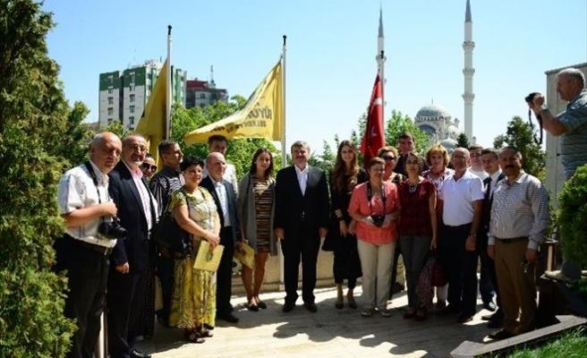Moldovalı Gazeteciler Başkan Akyürek'i Ziyaret Etti