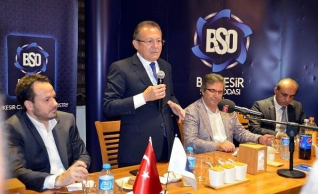 Bso'nun Meclis Toplantısı Bandırma'da Yapıldı