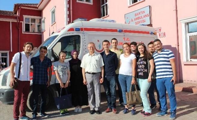 Yeni Atanan 112 Personellerinin Eğitimlerine Başlandı