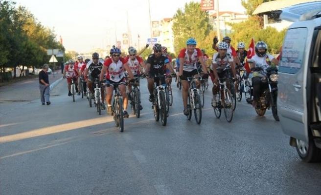 Kuruluştan Kurtuluşa Bisiklet Turu Biga Etabı Tamamlandı