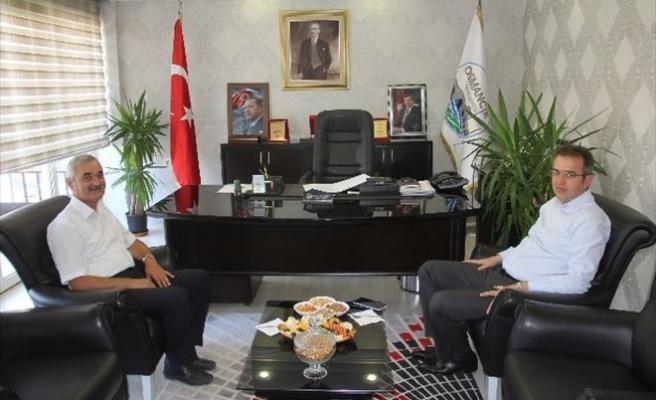 Kaymakam Demircioğlu'ndan Başkan Karataş'a Ziyaret
