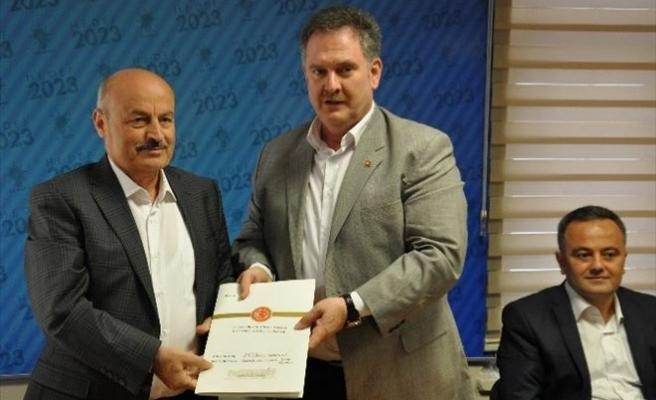 Milletvekili Kahveci Aday Adaylığı Başvurusunu Yaptı