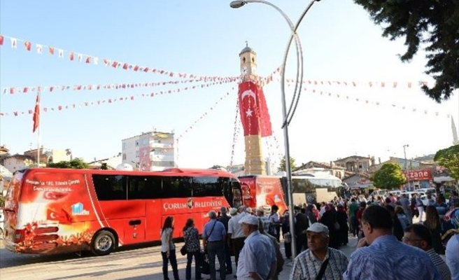 Çorum Belediyesi 2 Bin 250 Kişiyi Çanakkale'ye Götürecek