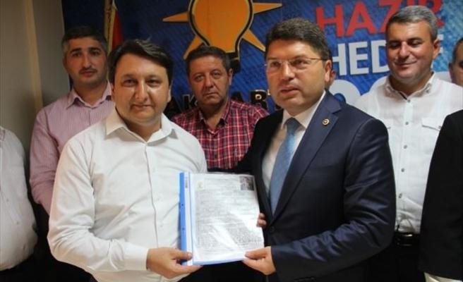 AK Parti Bartın Milletvekili Tunç Aday Adaylığı Başvurusunu Yaptı