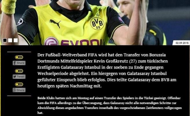 Dortmund'dan 'Grosskreutz' Açıklaması