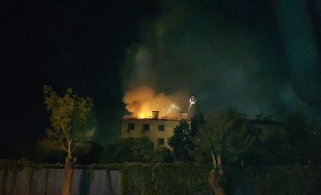 (Özel Haber) Konya Astsubay Orduevinde Korkutan Yangın