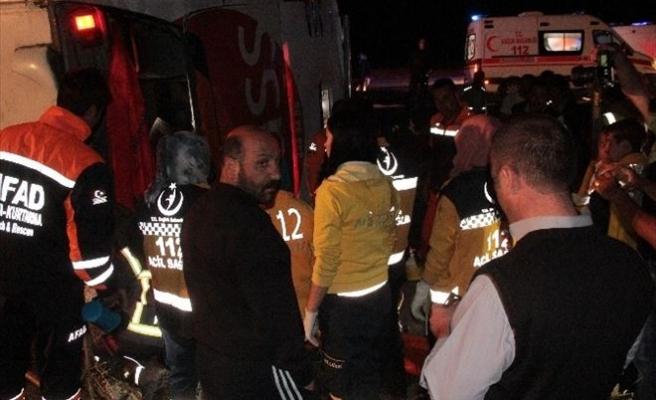 Erzurum'da Yolcu Otobüsü Kazası: 29 Yaralı