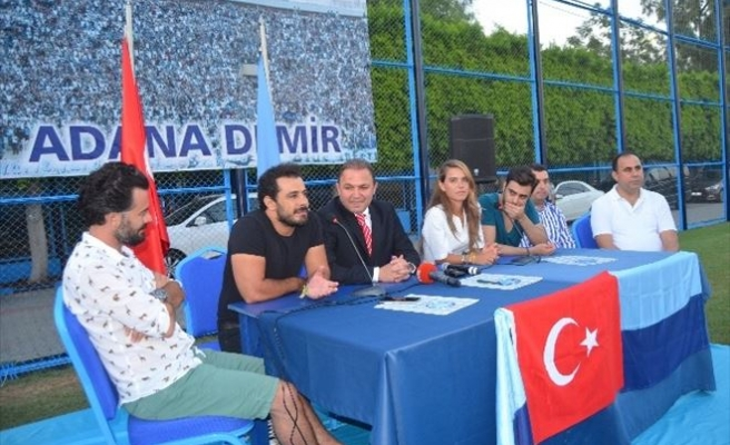 Sanatçılardan Adana Demirspor'a Ziyaret