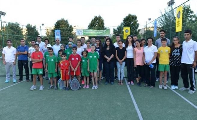 5. Amed Tenis Cup Turnuvası Başladı