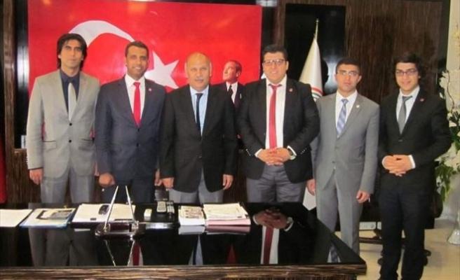 Genç TÜMSİAD'tan Cumhuriyet Başsavcısı Abdullah Bayır'a Ziyaret