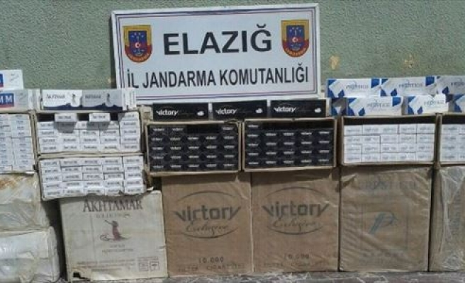Jandarma Ekipleri 16 Bin Paket Kaçak Sigara Ele Geçirdi