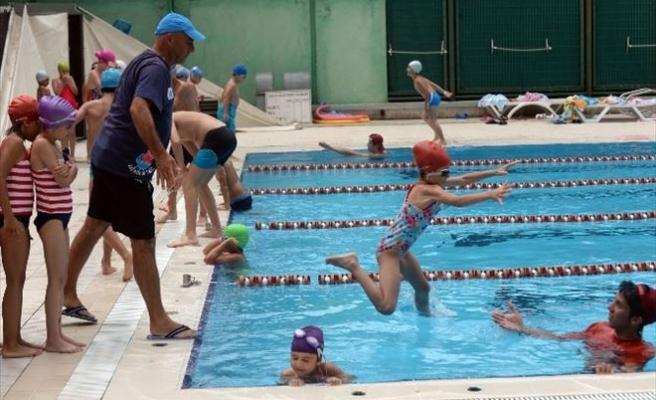 Havuzlar Öğrencilerle Doldu Taştı