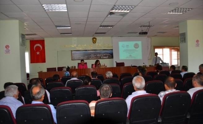 Koyulhisar-pülümür Arası Otoyol Projesi Hakkında Bilgilendirme Toplantısı Yapıldı