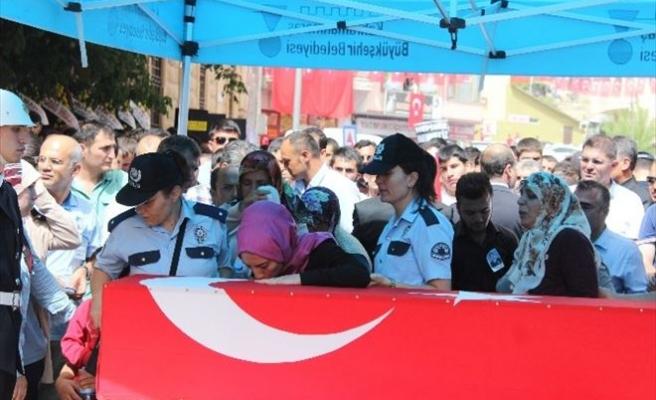 Şehit Başkomiser Son Yolculuğuna Uğurlandı