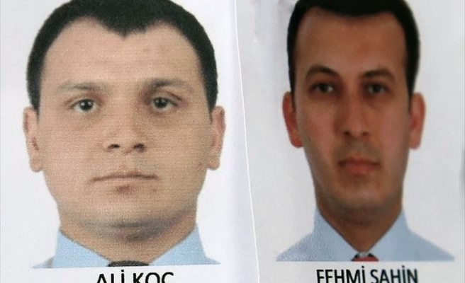 Şehit Polisler Fehmi Şahin Ve Ali Koç Son Yolculuğuna Uğurlandı