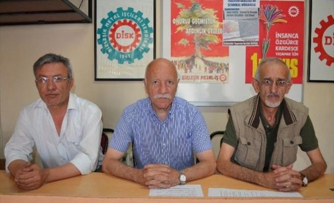 DİSK Emekli Sen'den Barış Çağrısı