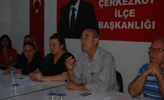 CHP Çerkezköy İlçe Başkanı Öztürk: