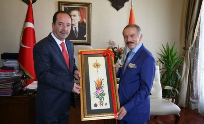 İstanbul Bayrampaşa Belediye Başkanı Aydıner, Edirne Belediye Başkanı Gürkan'ı Ziyaret Etti